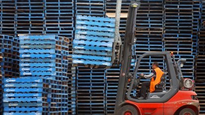 Brambles' pallets in demand as businesses stockpile over Brexit fears