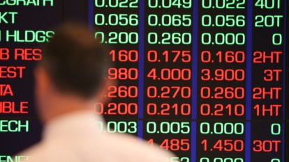 Five-day rally for Australian shares comes to a shuddering halt