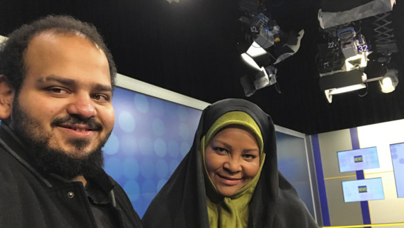 Anchor for Iranian TV is arrested on visit to US