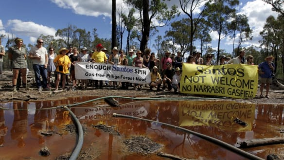 'Not the details requested': EPA, RFS, others rebuke Santos over CSG