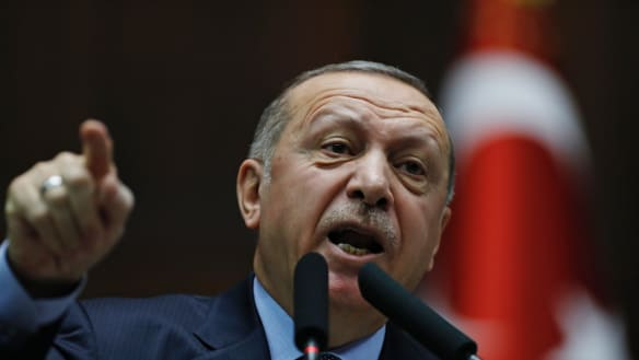 Turkey hits back at Trump's vow to defend Kurdish militia