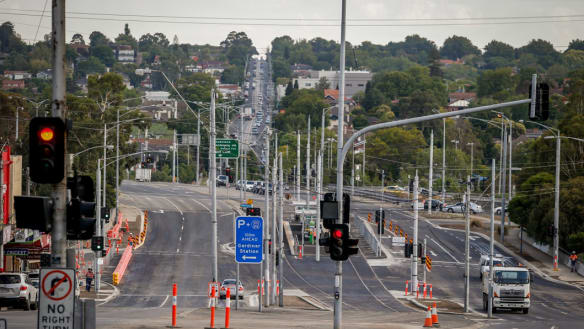 Melbourne city loop upgrade contractor collapses