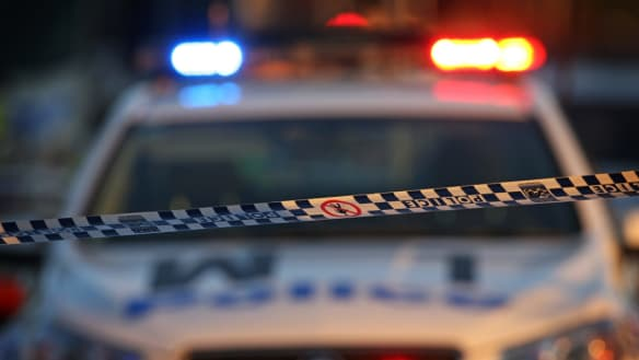 A man armed with a knife has threatened a female postal worker in Kingston at lunch time on Monday.
