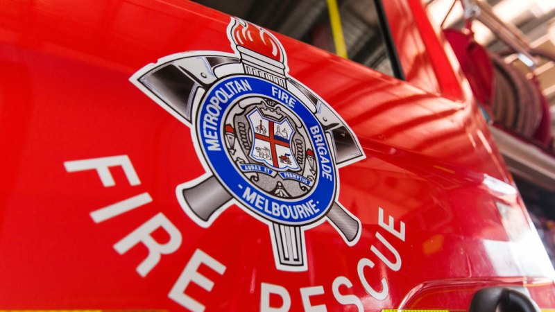 Dozens of firefighters battle blaze at Box Hill office building