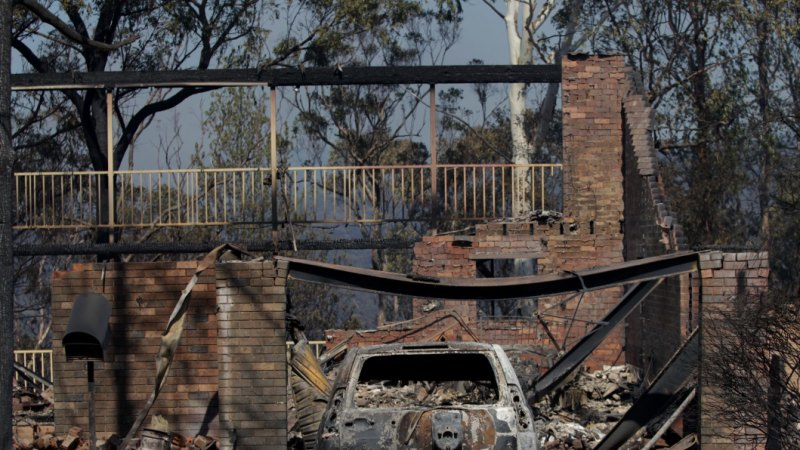 Most at-risk postcodes for NSW's fires reveal danger hotspots