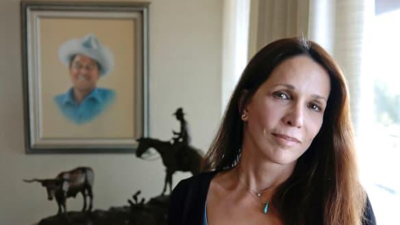 Ronald Reagan's daughter Patti Davis tells her story of sexual assault