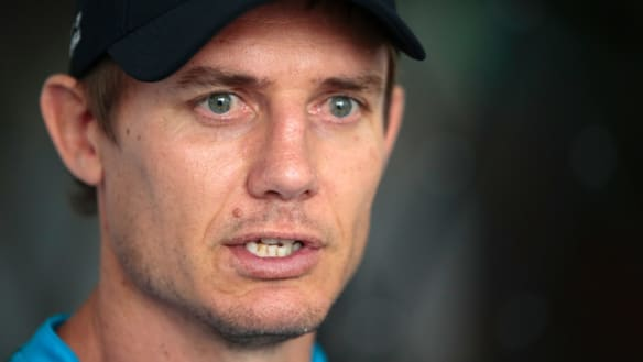 Sacrificial lamb: one-time head coach heir apparent Stephen Larkham may be the man to pay for the Wallabies' horror run.