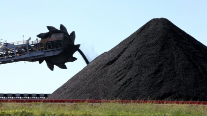 A big Chinese port bans Australian coal and the dollar falls