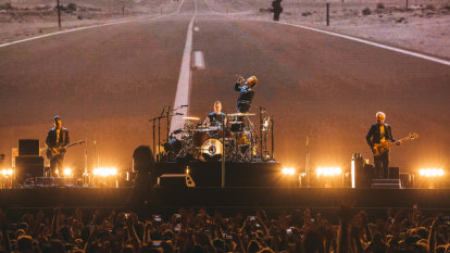 U2 return for their first Australian shows in nine years