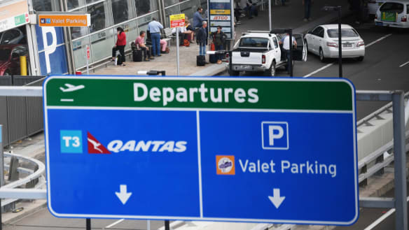 Sydney Airport investigation: car seized and two men assisting police