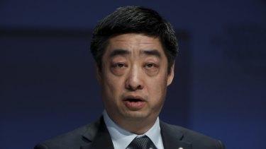 Huawei rotating chairman Ken Hu.