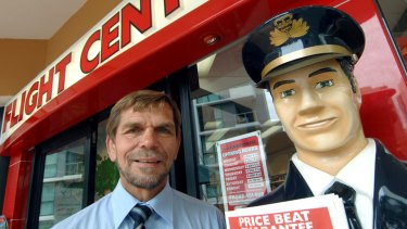 Flight Centre founder Graham Turner is looking for a silver lining to the company's results.