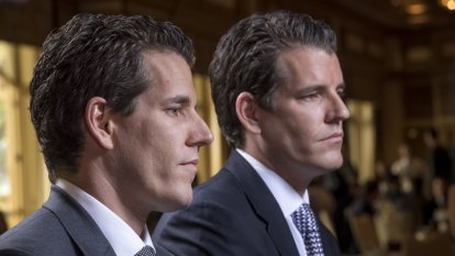 'Welcome to the party': Winklevoss twins' message to Zuckerberg