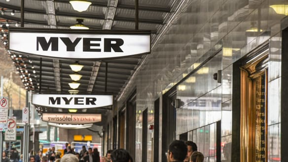 ASX puts Myer into a trading halt after sales figures leaked