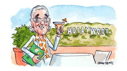 Burkey's wet 'n' wild ride to Hollywood
