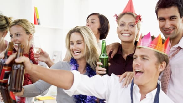 The art of small talk at the office party