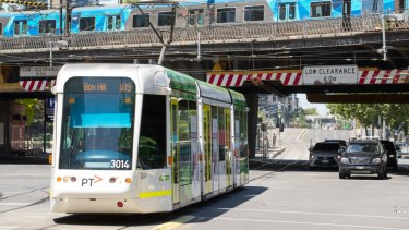 Public transport is not keeping pace with Melbourne's rapid population growth.