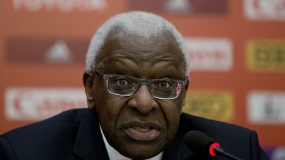 Former athletics boss Lamine Diack charged with graft