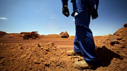 Iron ore mishaps provide unsustainable windfall for miners and Josh Frydenberg
