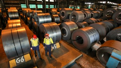 Aussie steel faces downturn as 'Trump bump' fades and China fears grow