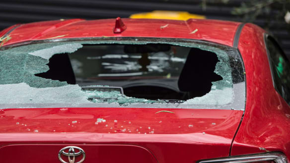 It's likely 100,000 cars were damaged by the Sydney hail storm of late December, Suncorp's Gary Dransfield says.