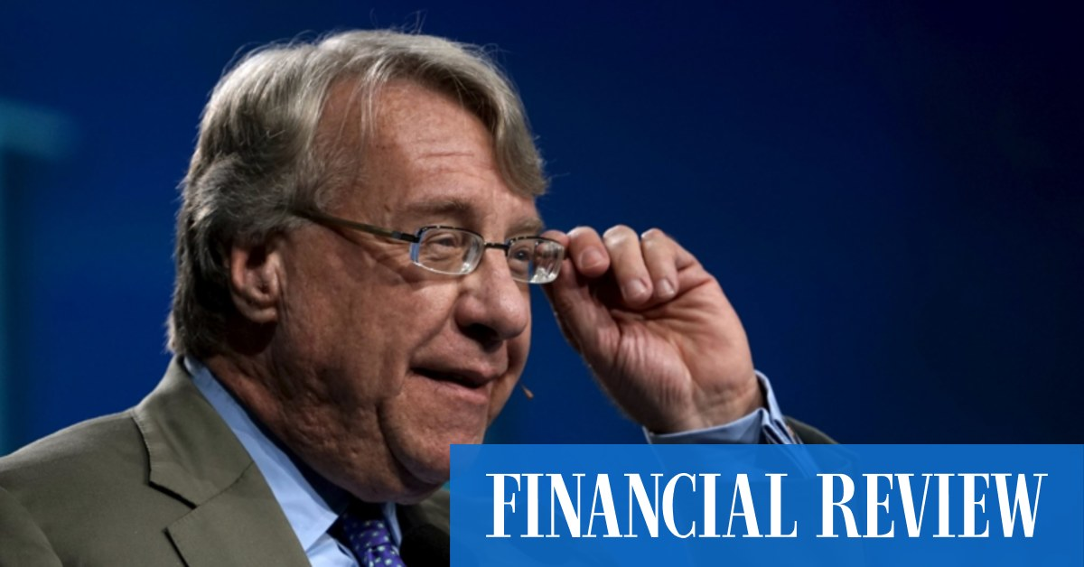 China bear Jim Chanos still bearish – The Australian Financial Review