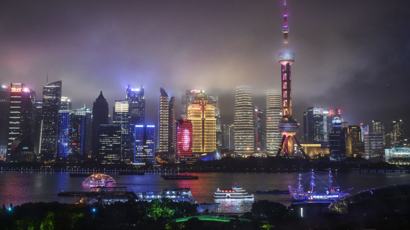 The dazzling skyline of Chinese cities such as Shanghai makes it clear the weight of wealth is no longer with confined to Hong Kong.
