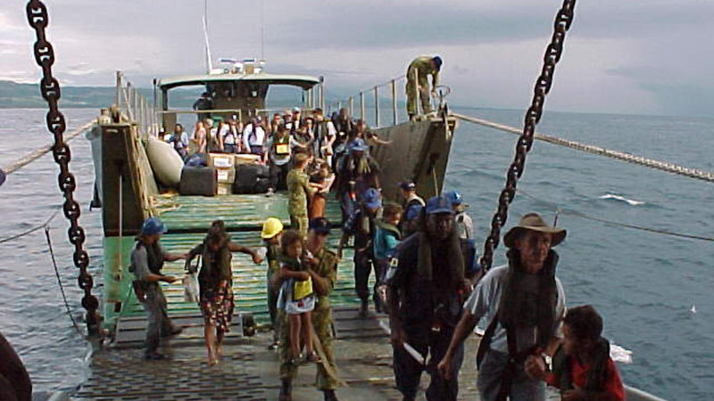 From the Archives, 2000: Australians evacuated from Solomon Islands after coup