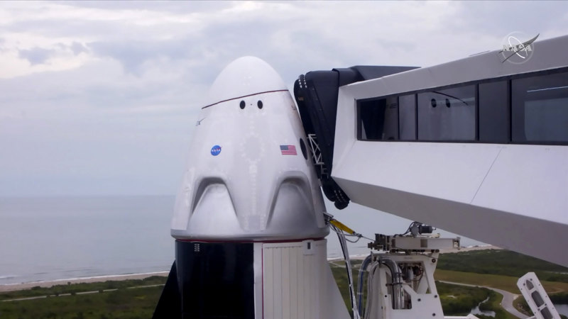 NASA resumes human spaceflight from US soil with historic SpaceX launch