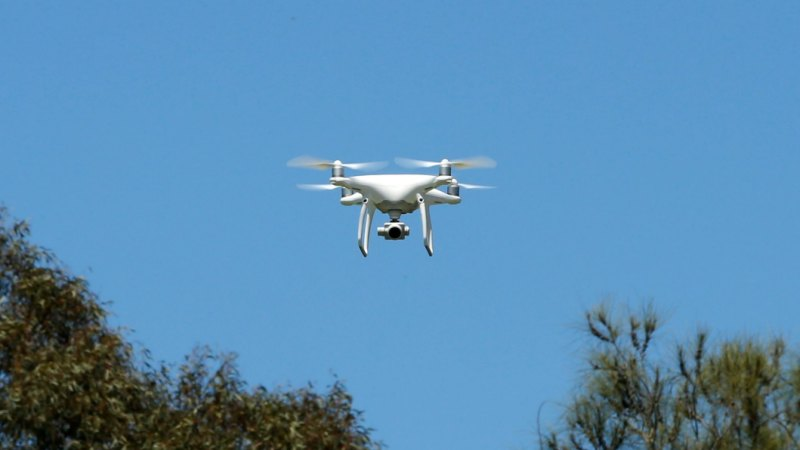 Commercial drone shot down, police launch investigation