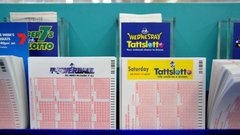 Jackpot: Dan Andrews' $100 million lotto win