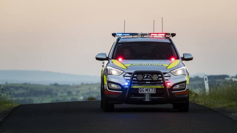 Woman treated for injuries after pedestrian and vehicle incident in