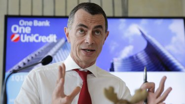 UniCredit Bank CEO Jean Pierre Mustier.