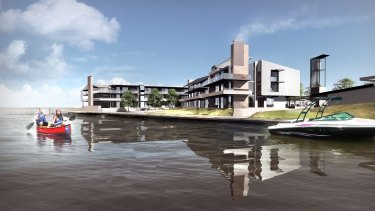 Renders of the Sebel Yarrawonga, due to open soon in country Victoria.