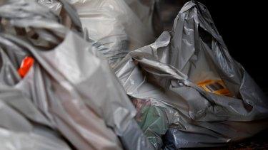 Single-use plastic bags are an environmental hazard.
