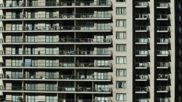 Housing developments in Sydney are in danger of becoming slums.