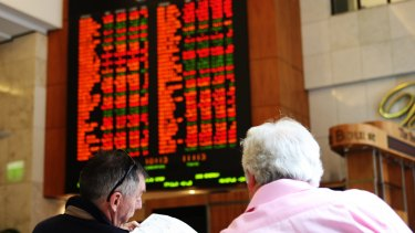 Recession fears sparked heavy selling on the local sharemarket.