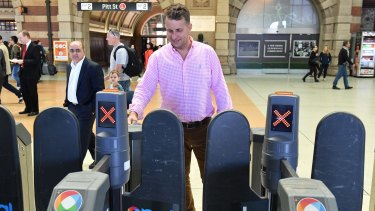 Transport Minister Andrew Constance says contactless payments will make travel easier for tourists.