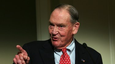Vanguard Group founder John 'Jack' Bogle is known as the father of the index fund.