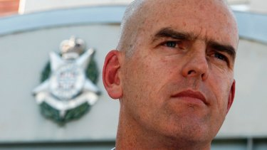 Former Victoria Police chief commissioner Simon Overland.
