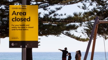 The northern beaches outbreak has made life tough for business owners in the area.