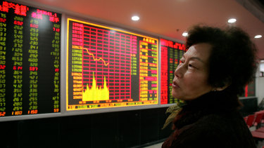 Mum and dad investors drive more than 80 per cent of trades in the Chinese sharemarket.
