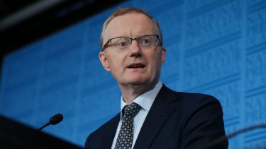 RBA governor Philip Lowe says falling house prices may feed into lower consumer consumption.