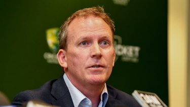 Cricket Australia chief executive Kevin Roberts.