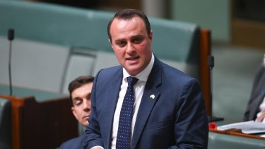 Liberal MP Tim Wilson is leading the attack on Labor's proposed changes to franking credits.