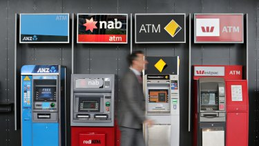 Shares in each of the big four banks are down by more than 4 per cent in early trade.