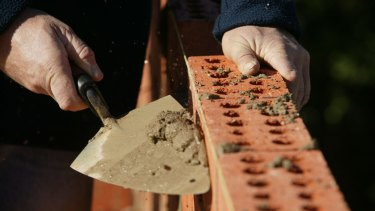It's still a struggle to find key jobs like bricklayers and ceramic tilers, builders groups say.