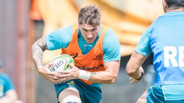 Sean McMahon hasn't played for the Wallabies since 2017.