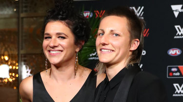 Melbourne's uber-consistent Karen Paxman (right) has made all five All-Australian teams.