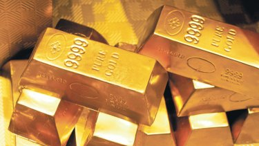 The gold price has risen to multi-year highs as investors seek out safe havens for their cash.